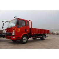 China Elegant Howo Light Truck 4x2 5 Ton Capacity Red Color Euro 2 High Safety on sale