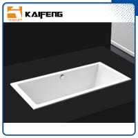 Square Long Freestanding Soaking Bathtubs For 1 Person Space Saving Manufactures