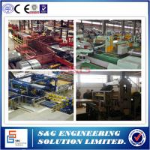 China 1 - 25mm Thickness Hr Slitting Machine , 20T Stainless Steel Sheet Cutting Machine on sale