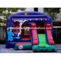 PVC Inflatable Castle Bouncer Colorful For Commercial / Party Manufactures