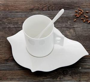 Certifiction 3512 bone china coffee diamond heating plate ash 45% hot plates for coffee mug Manufactures