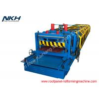 China PLC Control Roof Tile Roll Forming Machine , Roof Profiling Machine CE Approved on sale