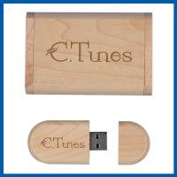 Wood 32GB Cell Phone Accessory , High Speed USB2.0 Flash Storage Drive Memory Stick Manufactures