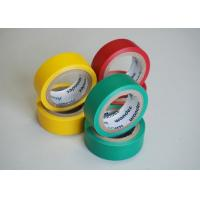 Achem Rubber Adhesive Insulation Tape Matte Film PVC Black / Red / Green Manufactures
