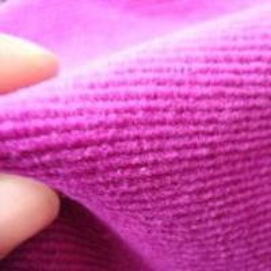 China 2 x 2 Corduroy Spandex Velour Fabric on sale