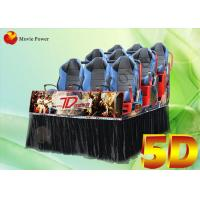 Air injection / Leg sweep Dynamic 4d 5D Movie Theater VR simulator Manufactures