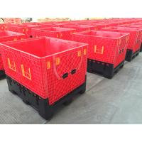 China High Durability Wire Folding Bulk Containers Foldable Pallet Container on sale