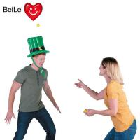 Buy cheap Customized party inflatable hat toss game with balls from wholesalers