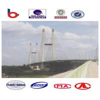 Steel Truss Cable Stay Bridges Suspension With High Strength Manufactures