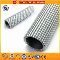 Rectangle Aluminum Window Profiles Sound Insulation High Structural Stability Manufactures