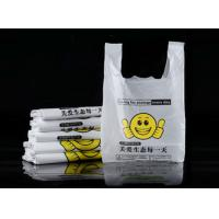 Quality Semi Clear PO Material Supermarket Plastic Bags For Commodities for sale