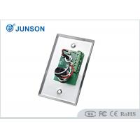 Two Colored LED Indication Door Release Button With Stainless Steel Plate Manufactures