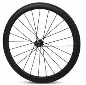 Lightweight Bicycle Carbon Tubular Wheelset 700c road bike rim 50 / 60 / 88mm Manufactures