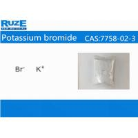China Bromine Chemical 99.5% Assay Potassium bromideCAS: 7758-02-3 on sale