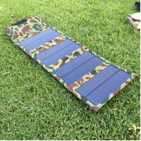 China 7W Mini Solar Panel Cell Phone Charger,5V Outdoor Portable Solar Energy Powered Phone Charger on sale
