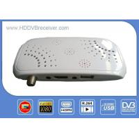 China MINI H.264 MPEG4 Digital Satellite Receiver HD / Television Receiver Box on sale