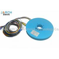 China Rotary table Gold - Gold contacts Pancake Slip Ring 22# silver plated copper on sale