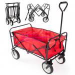 Folding Utility Wagon Garden Beach Cart All-Terrain Wheels Removable Cover New Manufactures