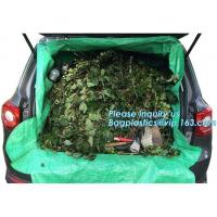 China customized waterproof green pe car protector,environmental firendly, car boot liner, reusable, durable,economical,sample on sale