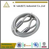China Everbilt 1/2 In. X 9 Ft. Galvanized Vinyl Coated Wire Rope/Cable Sling With Loops 13150 on sale