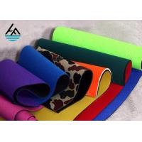 Waterproof Neoprene Fabric Sheets Polyethylene Rubber Sheet For Sports Products Manufactures