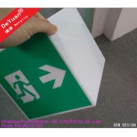 Guide Hang Box Building Acrylic Display Stands Public Accasion 17x17x17cm Manufactures