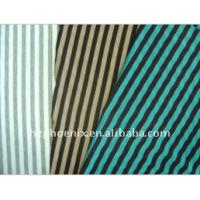 China Yarn dyed stripe knitted fabric on sale