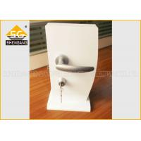Japanese Type Adjsutable Interior / Cupboard Door Silent Door Handle Lock Of Aluminum Manufactures