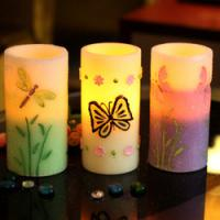 Quality Bougie wedding decoration Battery operated LED candles timer,craft candle for sale