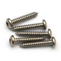 Square Socket Recess Pan Head A2 Grade 304 SUS Self Tapping Screw Stainless Steel 18-8 Inox Manufactures