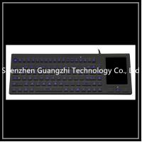 China Ip68 Protection Silicone Rubber Keypad With Led Backlit Touchpad Wear Resistant on sale