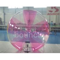 0.7mm TPU Inflatable Water Walking Ball With Soft Handle For Water Games Manufactures