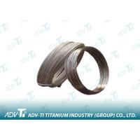 Quality Titanium Grade 1 Wire ASTM B348 In Coil / On Reel For Glasses Frames Bicycle for sale
