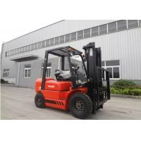 High Precise Hydraulic Material Handling Forklift , Safe 3 Step Switch Llock Electric Fork Trucks Manufactures