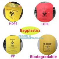 Disposable Autoclavable Biohazard Bags Medical Consumables Colorful Infectious Manufactures