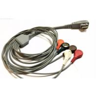 China DMS 300 Holter Cable 5 7 10 Lead ECG Leadwires HDMI 19 PIN Anti - Interference on sale