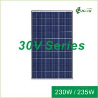 China 30V Poly Solar Panels Solar Power Panel 220W 225W 25 Years Product Warranty on sale