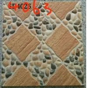 Stone Design 400x400 Floor Tiles , Patterned Outdoor Tiles 400 X 400 For Kitchen
