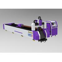Dustproof Metal Tube Laser Cutting Machine , Safe Laser Cutting Machine For Tubes Manufactures