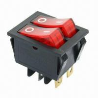 16A rocker switches with 250V AC voltage Manufactures