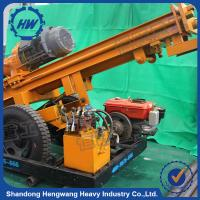 China 200m DTH rig pneumatic borehole water well rotary drilling rig manufacturer on sale