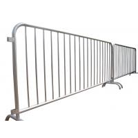 Hot dipped galvanized concert crowd control barrier for sale Manufactures