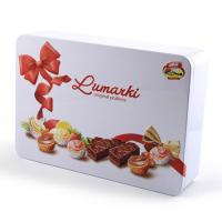 China Custom Recycled Exquisite Chocolate Tin Box on sale