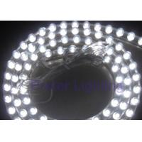 Professionally clear PVC 12V DC 45 degree flexible LED strip light in white Manufactures