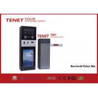China ID / IC Card Reader Ticket Box Park Ticket Payment Machine Barrier Gate on sale