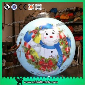 China 2016 Christmas Event Decoration,Christmas Inflatable Ball,Lighting Inflatable Balloon on sale
