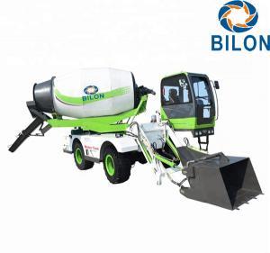 High Efficient 4 CBM Mini Concrete Mixer Truck Closed Circuit Hydraulic Rotation System Manufactures