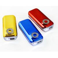 China Colorful CE Iphone Portable Phone Charger With Micro USB To Mini USB on sale