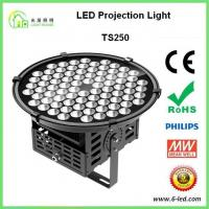 Ac 85-277v 250 Watt Led High Mast Lighting 120lm / W High Output Manufactures