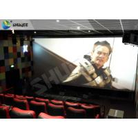 Professional 4DM Cinema Equipemnt With Electric Motion Chair , 4 Seats / Set Manufactures